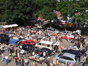 Der Flohmarkt in Oldenburg-Wechloy