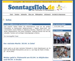 sonntagsfloh.de ab 2002