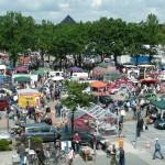 Flohmarkt in Oldenburg-Wechloy (Famila Einkaufsland) am Sonntag